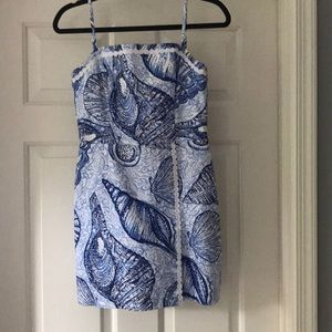 Blue shell Lilly Pulitzer
